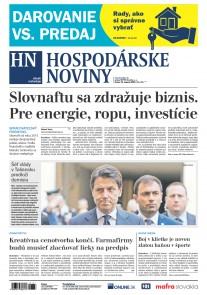 Hospodárske noviny 21.08.2019
