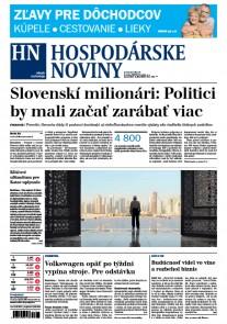 Hospodárske noviny 03.07.2017