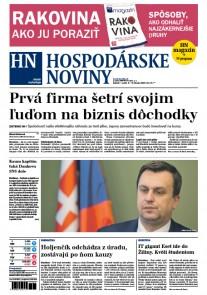 Hospodárske noviny 03.02.2017