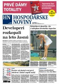 Hospodárske noviny 14.07.2017