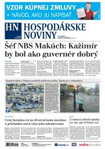 Hospodárske noviny 17.09.2018
