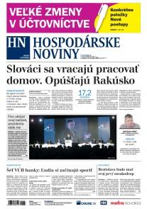 Hospodárske noviny 10.12.2018