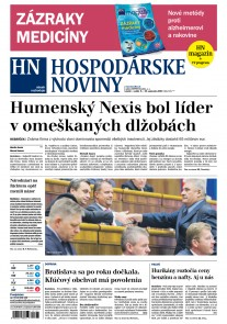 Hospodárske noviny 08.09.2017