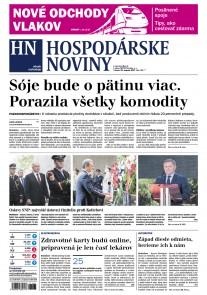 Hospodárske noviny 30.08.2017