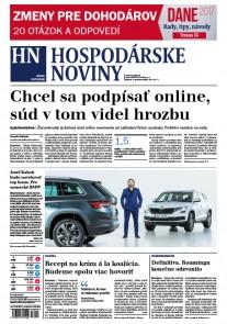 Hospodárske noviny 09.02.2017