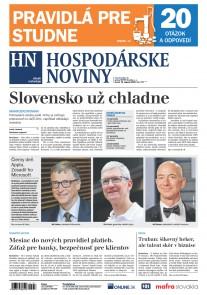 Hospodárske noviny 13.08.2019