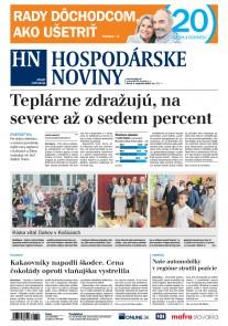 Hospodárske noviny 04.09.2018