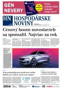Hospodárske noviny 31.08.2018