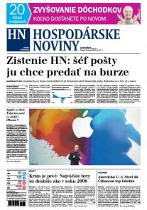 Hospodárske noviny 02.02.2017