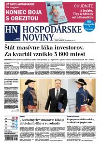 Hospodárske noviny 13.04.2017