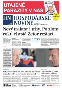 Hospodárske noviny 23.08.2019
