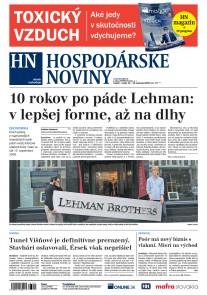 Hospodárske noviny 14.09.2018