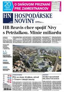 Hospodárske noviny 7.3.2017