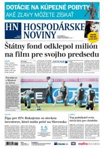 Hospodárske noviny 18.06.2018