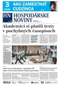 Hospodárske noviny 30.08.2018