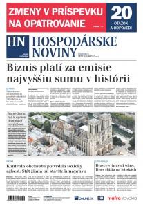 Hospodárske noviny 18.07.2019