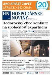 Hospodárske noviny 11.09.2018