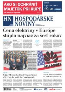 Hospodárske noviny 23.05.2019