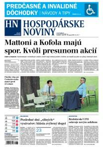 Hospodárske noviny 28.08.2017