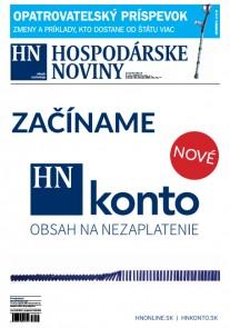 Hospodárske noviny 15.02.2017