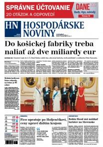 Hospodárske noviny 7.2.2017