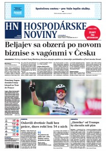 Hospodárske noviny 04.07.2017