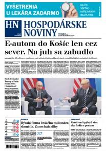 Hospodárske noviny 10.07.2017