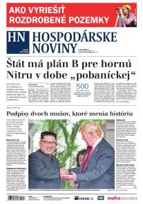 Hospodárske noviny 13.06.2018