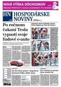 Hospodárske noviny 06.07.2017