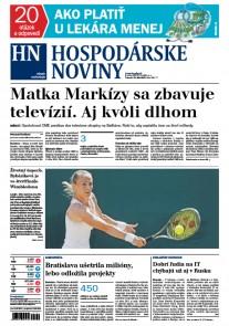 Hospodárske noviny 11.07.2017