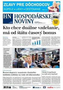 Hospodárske noviny 03.09.2018
