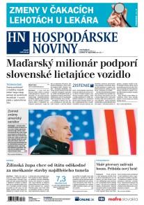 Hospodárske noviny 27.08.2018