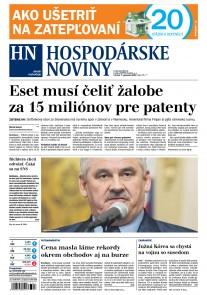 Hospodárske noviny 07.09.2017