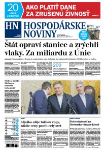Hospodárske noviny 14.03.2017