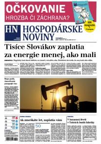 Hospodárske noviny 10.3.2017