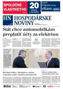 Hospodárske noviny 18.04.2019