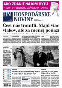 Hospodárske noviny 20.03.2017