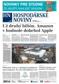 Hospodárske noviny 05.09.2018