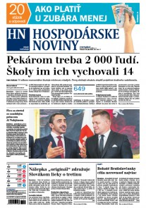 Hospodárske noviny 13.07.2017
