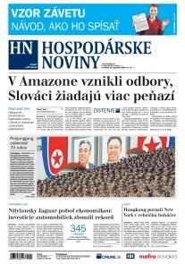 Hospodárske noviny 10.09.2018