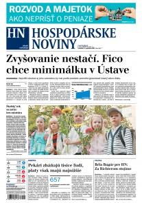 Hospodárske noviny 04.09.2017
