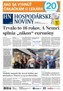 Hospodárske noviny 28.08.2018