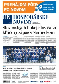 Hospodárske noviny 15.05.2019