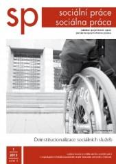 1/2013 Deinstitucionalizace sociálních služeb