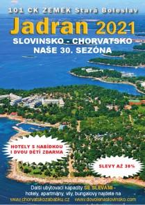 Katalog JADRAN 2021 / Chorvatsko / 101 CK Zemek