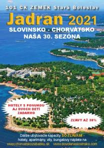 Katalóg Jadran 2021 - v EUR / Chorvátsko / 101 CK Zemek