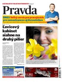 Pravda - titulka (11.4.2012)