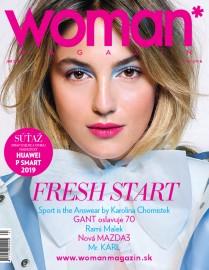 Woman magazín jar 2019