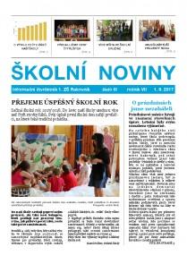Školní noviny 3/2017