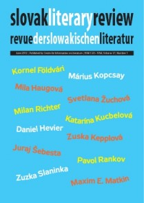 Slovak literary review  June 2012
